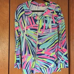 Lilly Pulitzer Full-Zip Sweatshirt